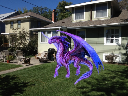 Wendys Yard Dragon