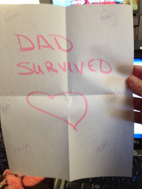 dad survived