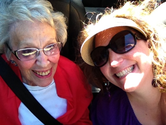 convertible-selfie-with-grandma